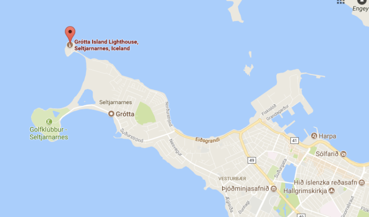 Grotta Lighthouse map