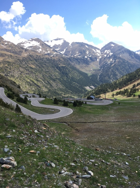andorra roads mountains