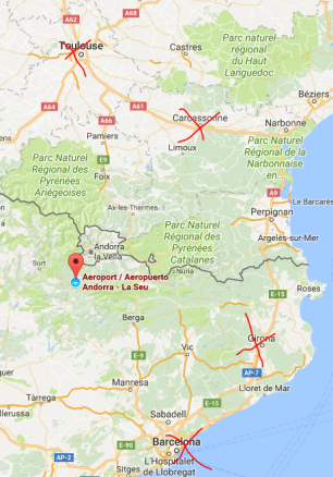 airports near andorra getting to andorra flights