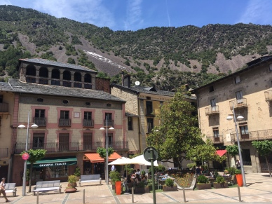 Andorra old town