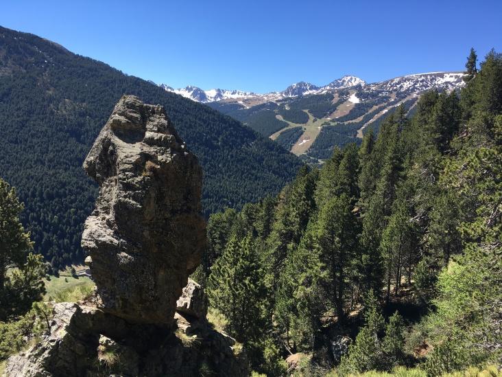 Andorra Rock Mountain