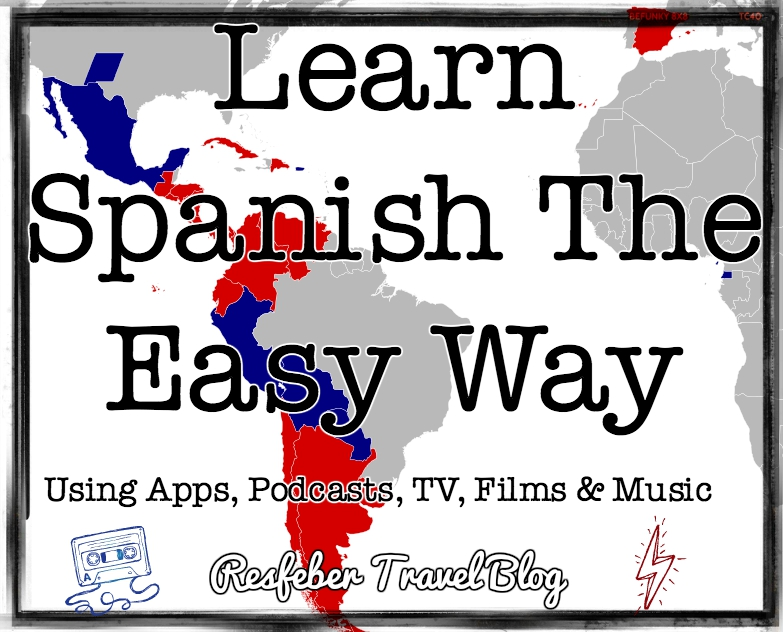 Learn Spanish with film music tv podcast apps