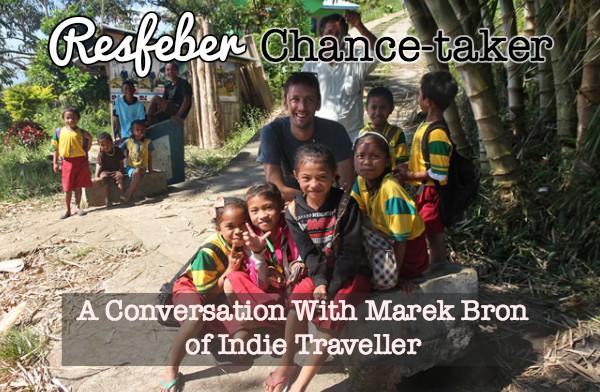 marek bron indie traveller