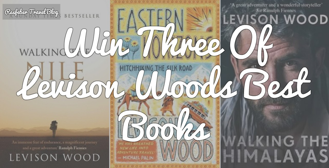 levison wood books competition giveaway