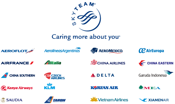 skyteam member airlines