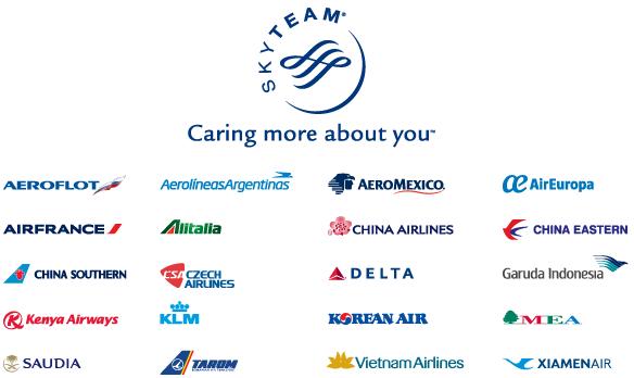 skyteam member airlines