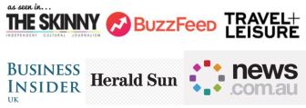 As Seen In The Skinny News.com.au Travel + Leisure