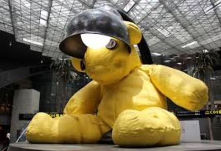 Doha Airport Bear