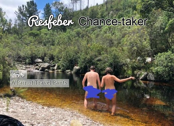 Resfeber Chance-taker: (Without) A Pair of Travel Pants