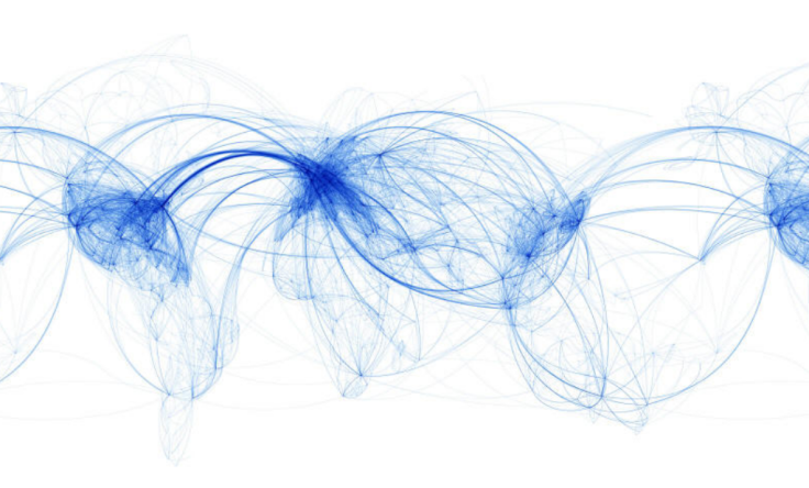 World Airline Travel Routes