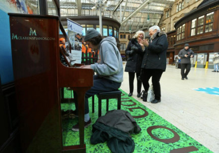 Glasgow Central Station Piano