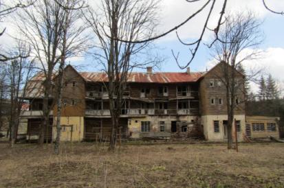Abandoned Hotel Zdiar Slovakia
