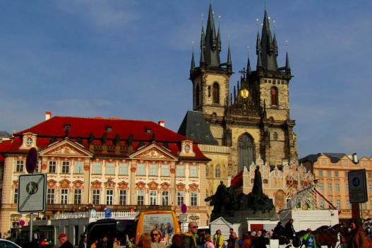 Prague Praha Church