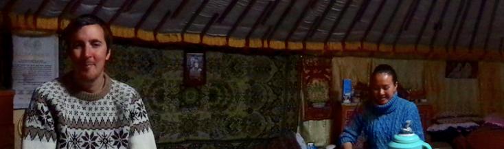 Nomadic Family Mongolia