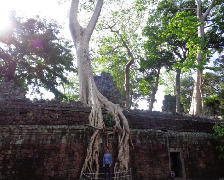 The Real Tomb Raider, Angkor Archeological Park